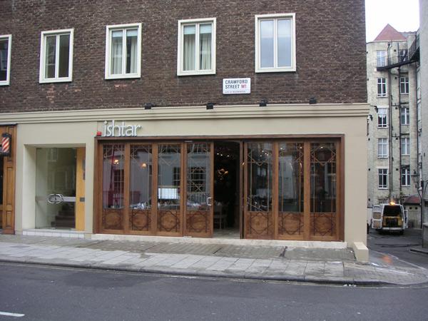 Ishtar Restaurant Crawford Street